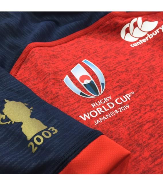 Camiseta rugby Inglaterra away RWC 2019