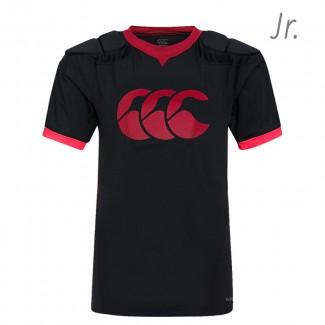 Hombrera Canterbury Vapodri Raze Vest junior negro-rojo