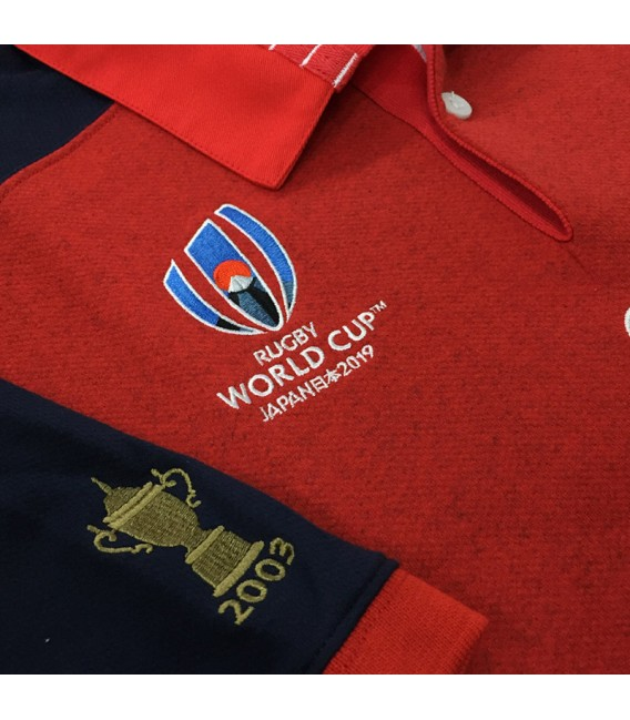 Polo rugby Inglaterra away RWC 2019 SS