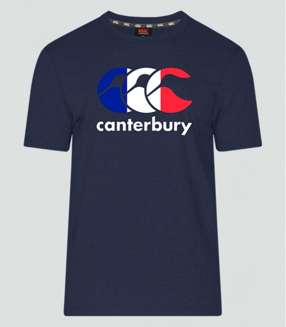 Camiseta Francia Seis Naciones navy