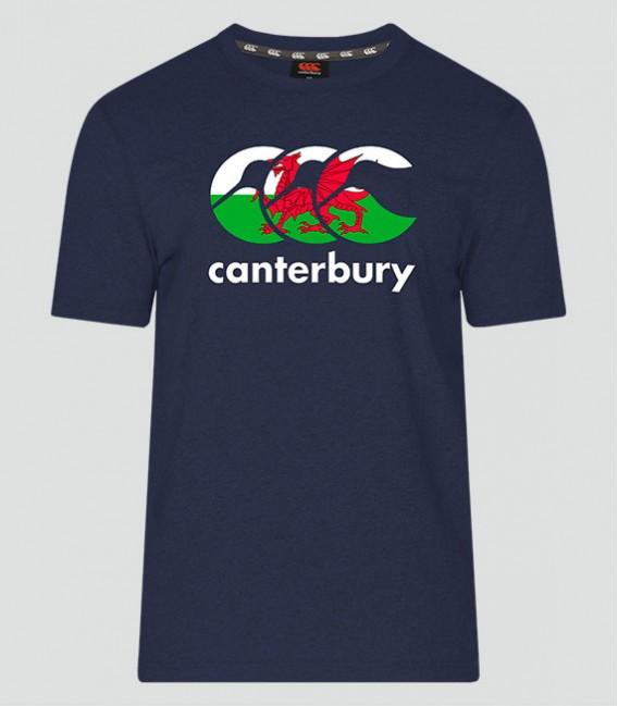 Camiseta Gales Seis Naciones navy