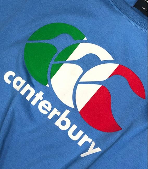 Camiseta Italia Seis Naciones celeste